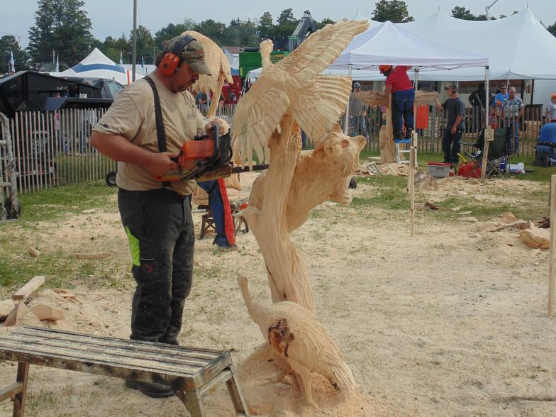 Power carve open carving competition